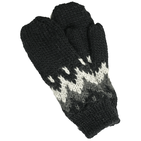 Vík hand knitted womens mittens