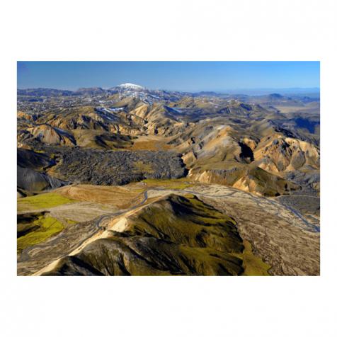 Landmannalaugar postcard