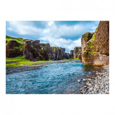 Fjaðurárglúfur postcard