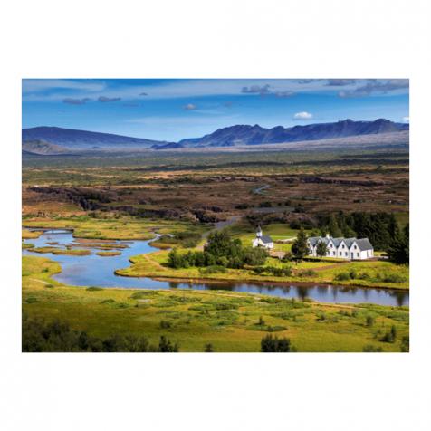 Þingvellir postcard