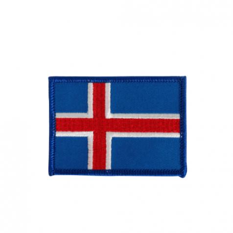 Clothing patch Icelandic flag