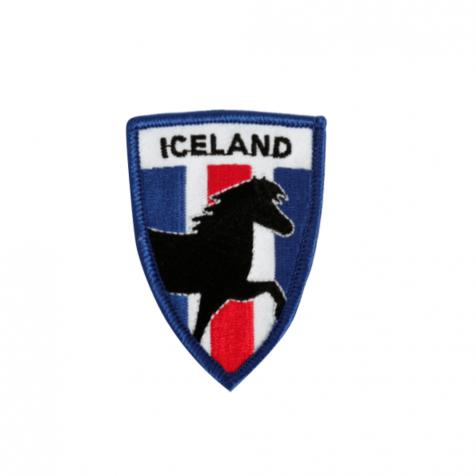 Clothing patch Icelandic horse