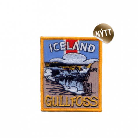 Clothing patch Gullfoss