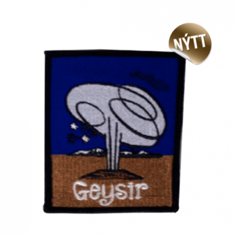 Clothing patch Geysir