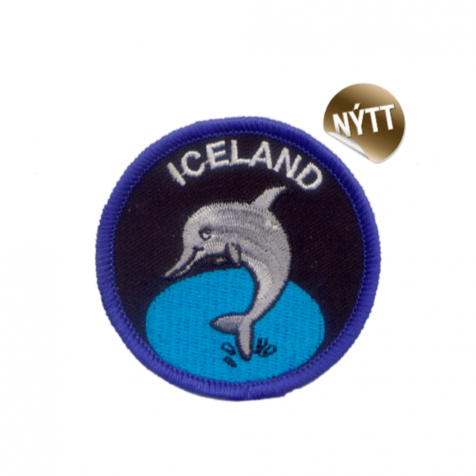 Clothing patch dolphin