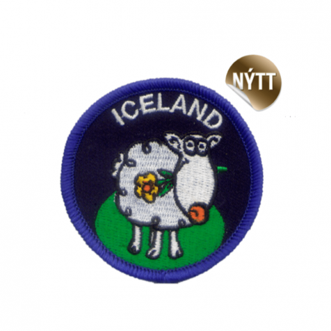 Clothing patch lamb