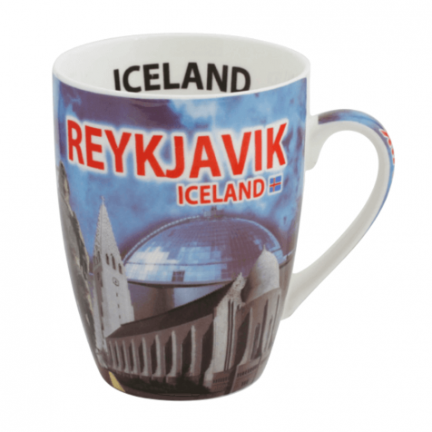 Cup with Reykjavik