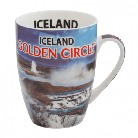 Cup with golden circle