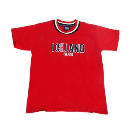 Kids' t-shirt with Iceland