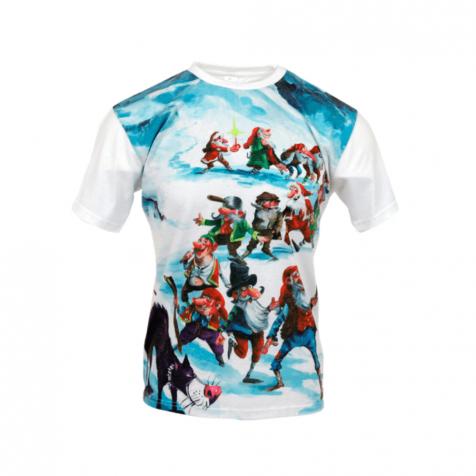 Yule lads Icelandic Christmas t-shirt