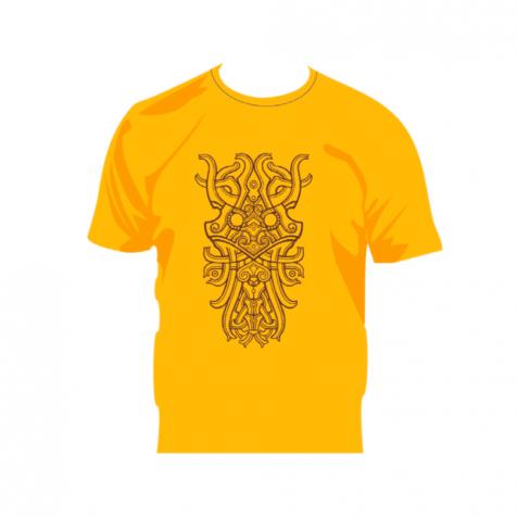 Celtic inspired Viking art t-shirt