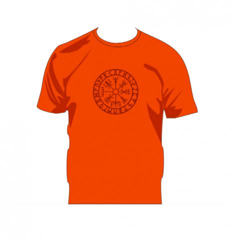 Vegvísir signpost viking t-shirt