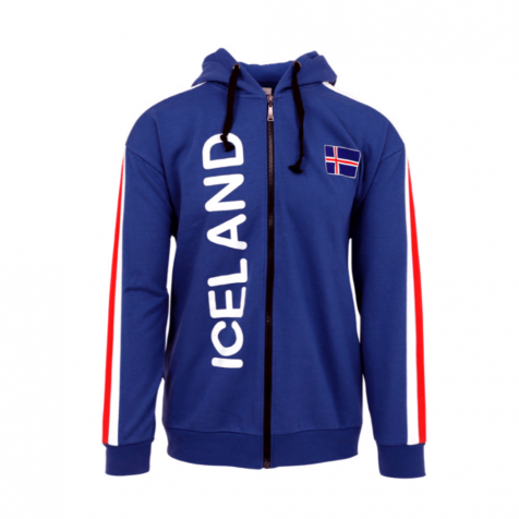 Icelandic flag hooded sweater