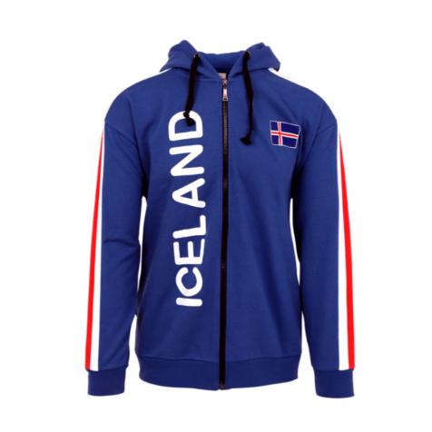 Icelandic flag hooded sweater