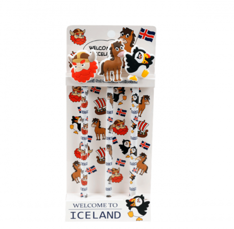 Welcome to Iceland set of Pencils