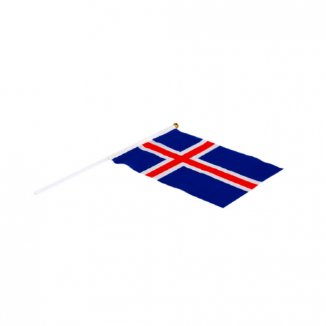 Icelandic small flag