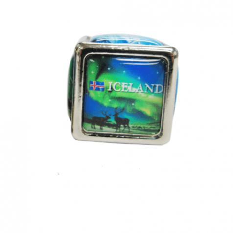 Northern light cube magnet