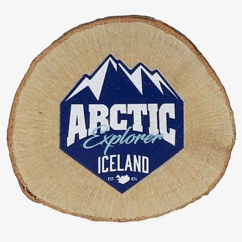 Wooden Arctic Explorer magnet