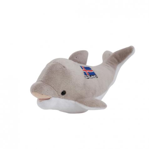 Icelandic flag dolphin stuffed animal