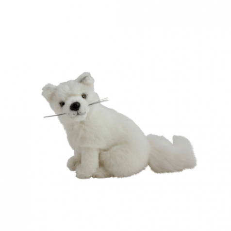 Arctic fox stuffed animal