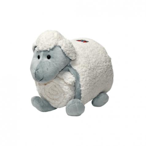 Sheep stuffed animal with blanket