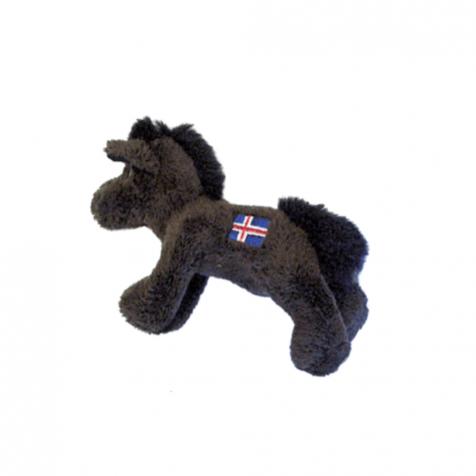 Icelandic flag horse magnet
