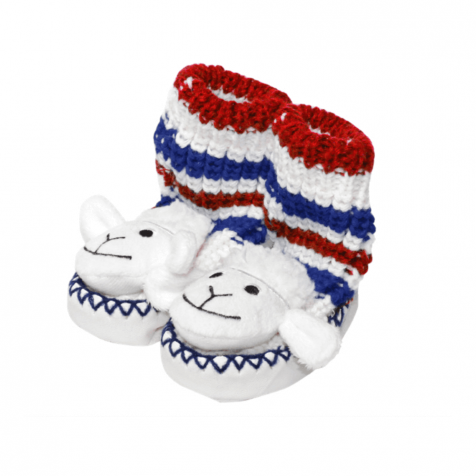 Sheep slipper socks for infants