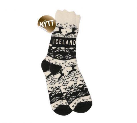 Socks with reindeer