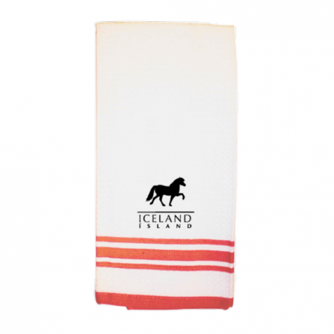 Dish towel with horse