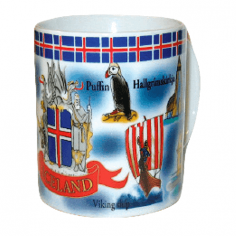 Cup with Iceland