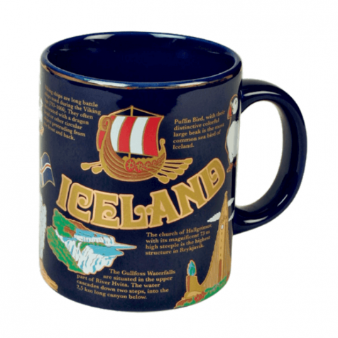 Cup with Icelandic history