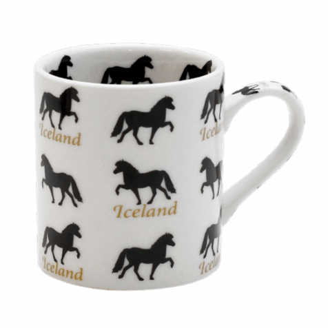 Cup with horses