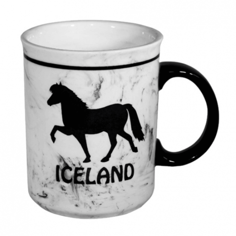 Cup with a horse