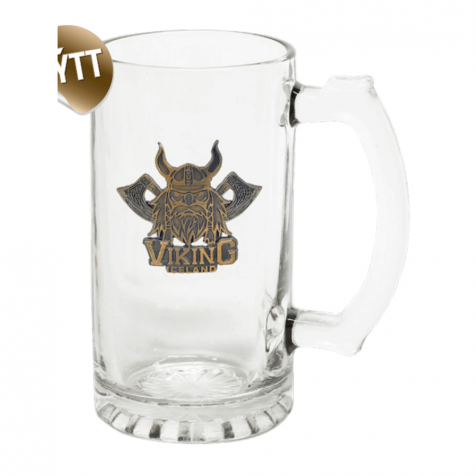 Mug with viking