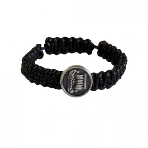 Ladies bracelet with tin viking ship