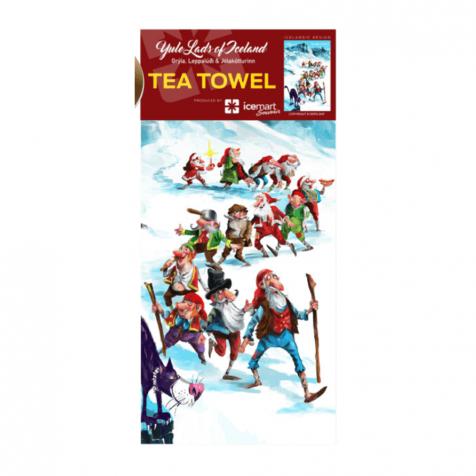 Dish towel yule lads Christmas