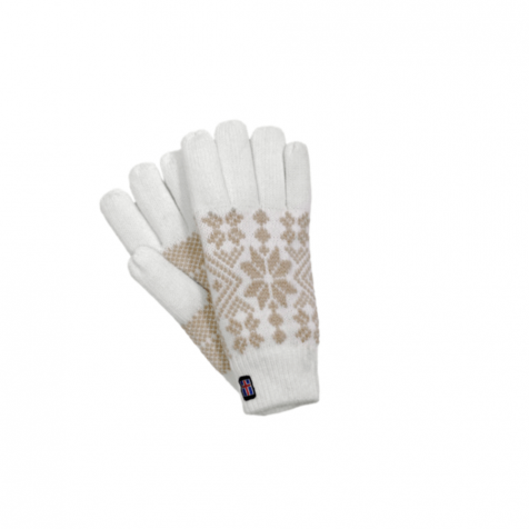 Gloves with snowflakes