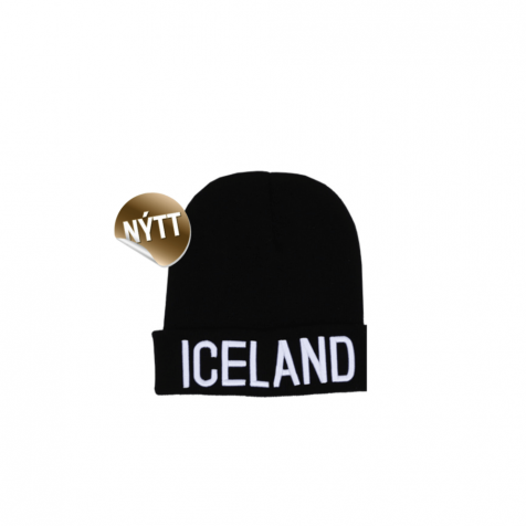 Beanie with Iceland