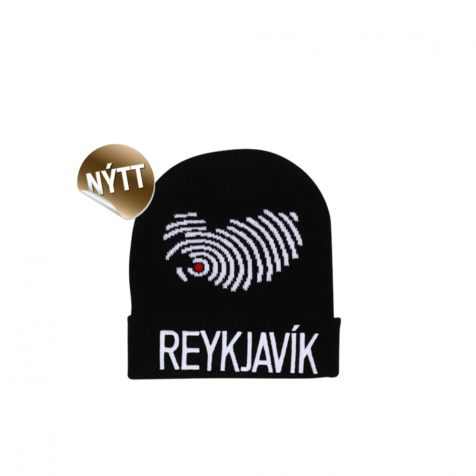 Hat with Reykjavík and map