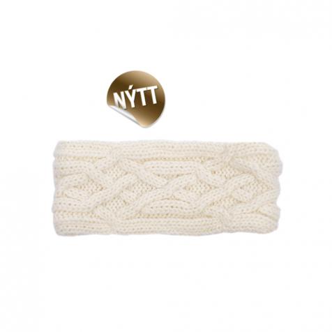 Headband lined with fleece