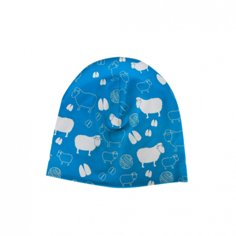 Light hat with sheep