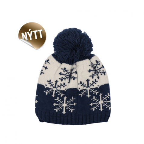 Children's hat with snowflakes