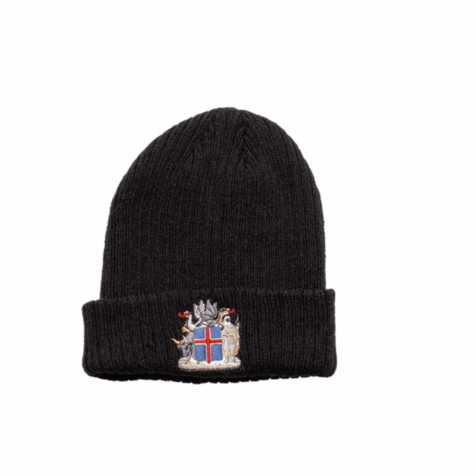 Hat with Icelandic coat of arms