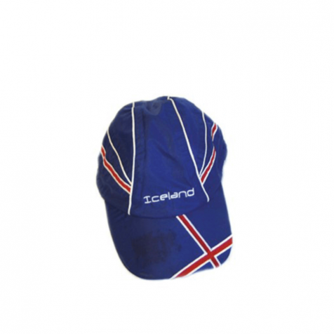Raincap with Icelandic flag