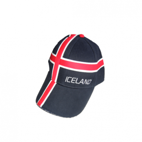 Cap with Iceland and Icelandic flag