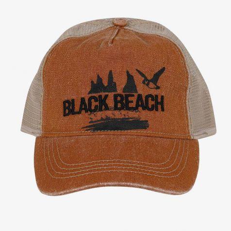 Black Beach Baseball cap