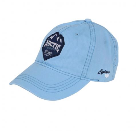 Baseball cap with Arctic Explorer and mountains