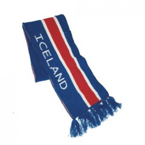 Icelandic flag scarf