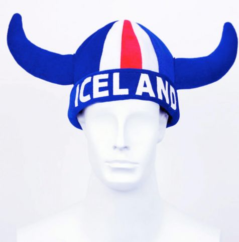 Viking horns soft Iceland hat