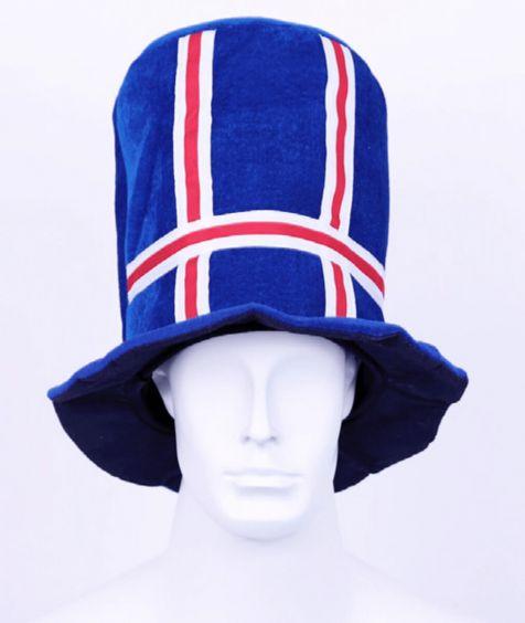 Large Icelandic flag hat